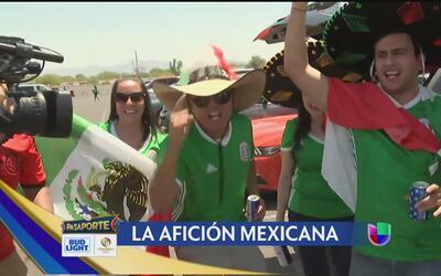 Los mexicanos encendieron Phoenix