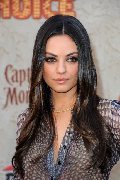 Esta es la primera vez que Mila Kunis tiene el puesto de más sexy...