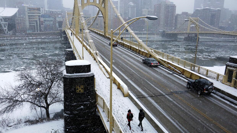 Fuerte nevada sobre Pennsylvania
