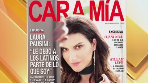 Laura Pausini es la portada de este mes de la revista Cara Mía