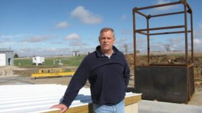 Larry Hall, líder del proyecto, tendrá un piso para él en este proyecto...