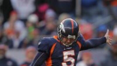 Matt Prater seguirá definiendo partidos para los Denver Broncos al menos...
