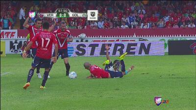 ¿Penalti de Veracruz a Chivas o no?