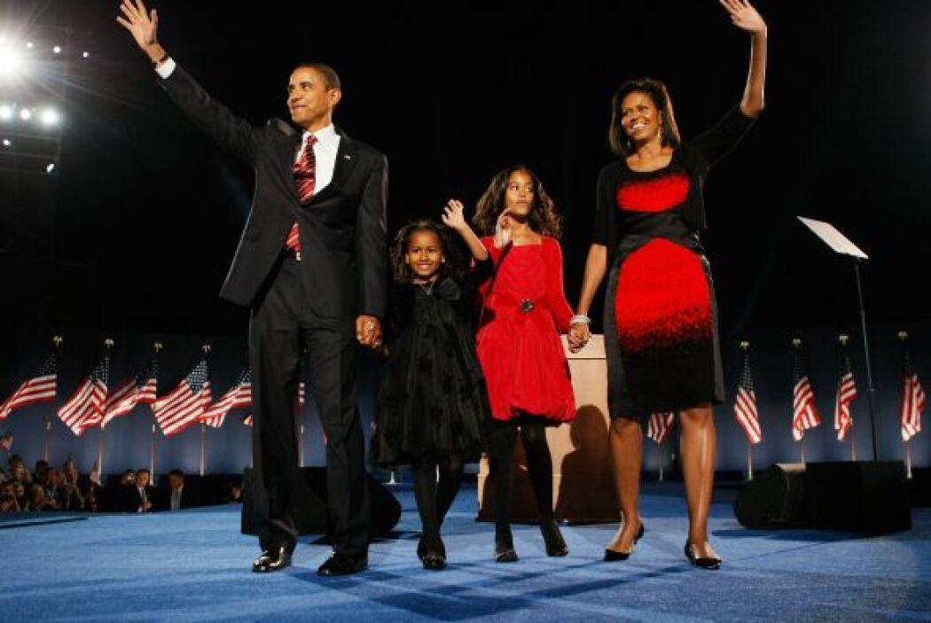 33.Barack Obama  El candidato demócrata, Barack Obama gana las eleccione...