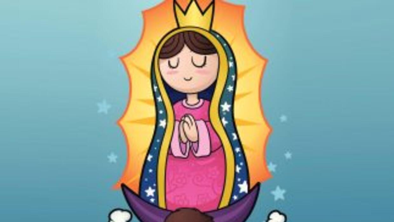 El 12 de diciembre se celebra el día de la Virgen de Guadalupe. Descubre...