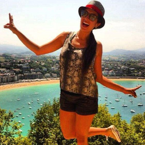 """""""Disfrutando #SanSebastian #MonteUrgull Que tal la vista? #vacaciones #e..."""