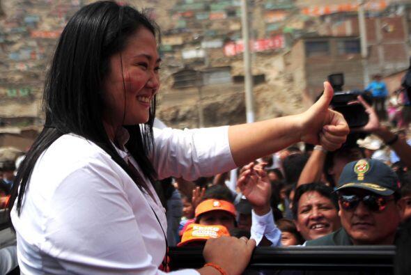 La hija del ex presidente Alberto Fujimori dijo que iría hasta tribunale...