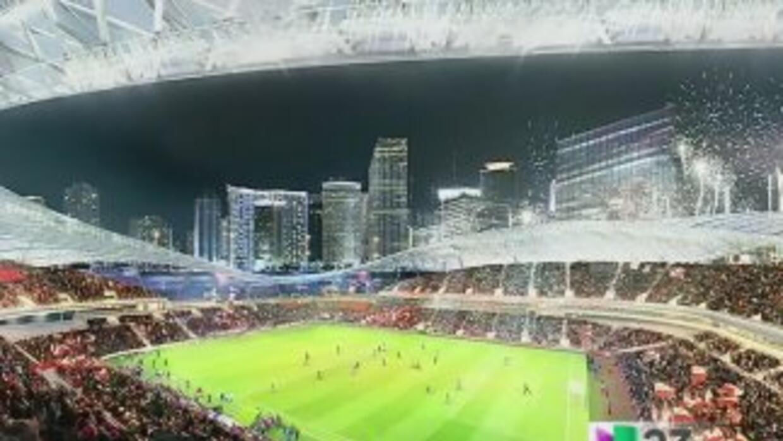 David Beckham pretende construir el estadio de fútbol en terrenos del Pu...