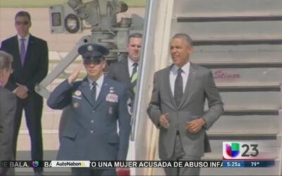 Presidente Obama viaja a Texas pero no visita la frontera