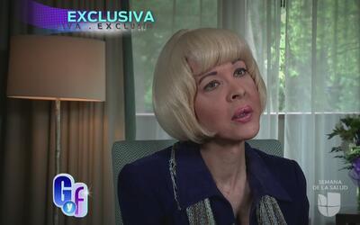 Fallece la actriz Alina Hernández., Cachita, su ultima entrevista, parte...