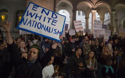 Manifestantes protestan en Los Angeles por la designación de otro...