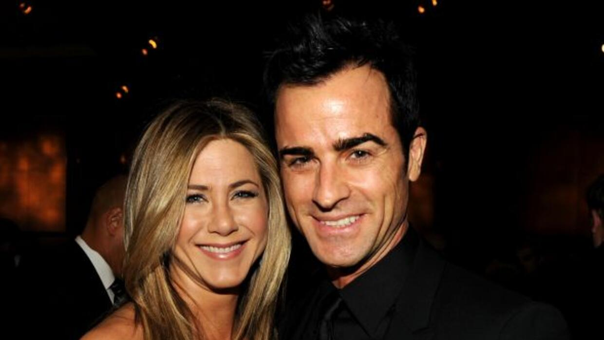 Jennifer Aniston y Justin Theroux se juraron amor eterno