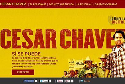 CÉSAR CHÁVES: Desde California, este descendiente mexicano se convirtió...
