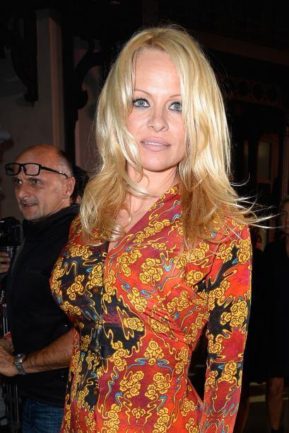 Pero ninguna de las dos se compara con Pamela Anderson, quien fue pillad...