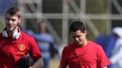 De Gea y 'Chicharito' han hecho buena amistad en el Manchetser United.
