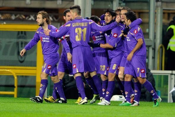 Luego de los festejos el equipo perdió la pelota y la Juventus co...