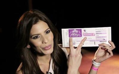 """La bella Puertorriqueña """"Viviana Ortiz"""" audiciona para Nuestra Belleza L..."""