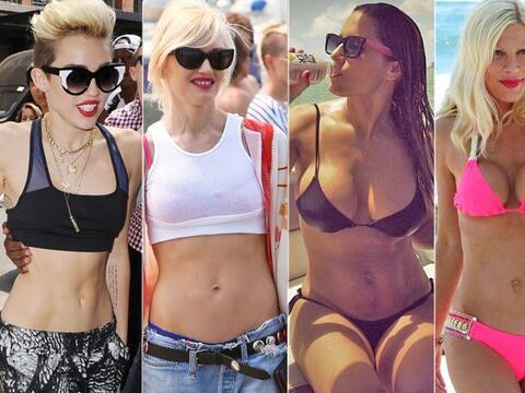 En esta época del año las celebridades aprovechan para pre...