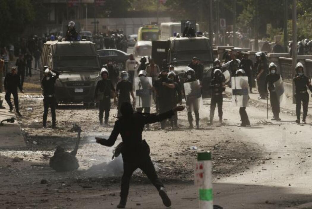 De ese modo, las fuerzas armadas egipcias colaborarán con la policía en...