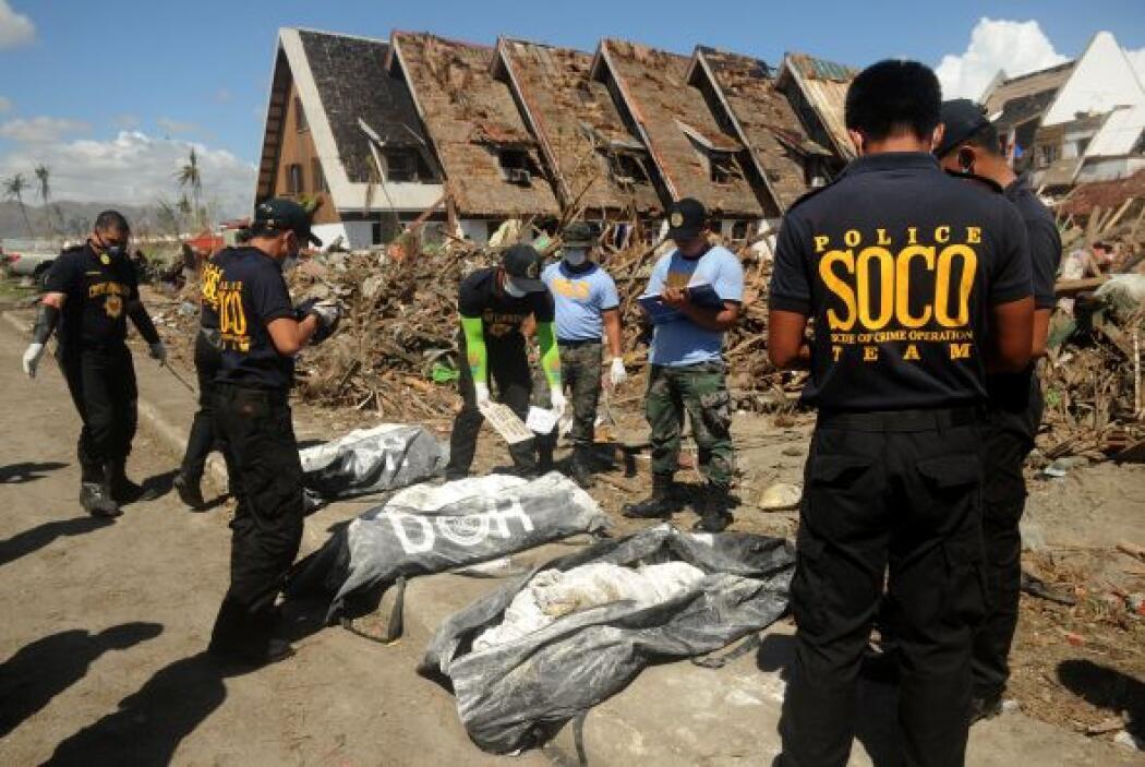 Unas 34,500 personas han sido desplegadas en las zonas afectadas por el...
