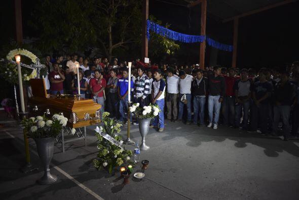 Julio César Ramírez Nava llegó a Iguala a ayudar a sus compañeros que ha...