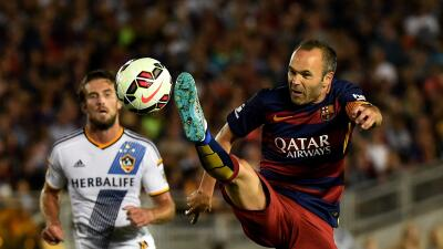 La Galaxy vs. Barcelona
