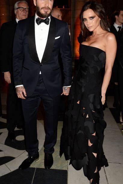 Victoria y David Beckham, un ejemplo de porte y belleza.