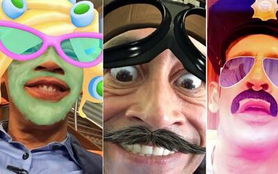 Johnny Lozada filtros Snapchat