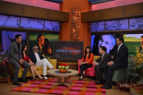 Andrea Bocelli es un ejemplo de vida y superación. Sus impediment...