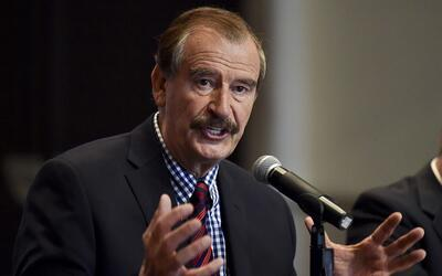 """Vicente Fox dice que Trump sería un """"ratero"""" si usa las remesas de los m..."""