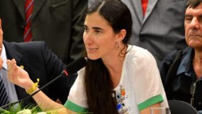 Yoani Sánchez aclaró su polémico comentario sobre la liberación de los e...