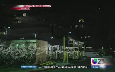 Confirman otro caso de ébola en Dallas