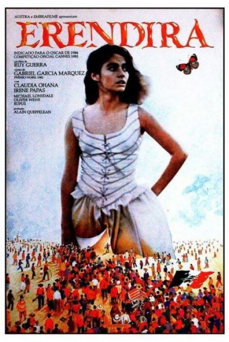 """""""Eréndira"""", estrenada en 1983, estaba basada en su historia """"La Increíbl..."""