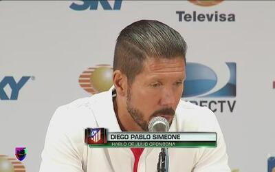 "Diego Simeone: ""Con Grondona me eduque deportivamente"""
