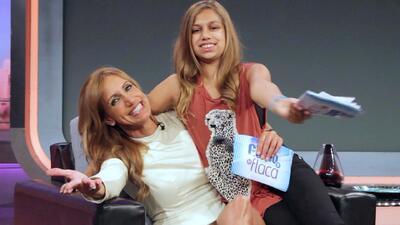 En exclusiva Lina habló sobre su mamá Lili Estefan en una entrevista muy...