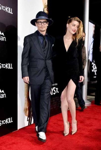 La prometida de Johnny Depp, Amber Heard dejó en claro con qué atrapó al...