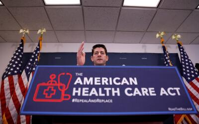 La propuesta presentada en la Cámara de Representantes por Paul R...