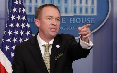 Mick Mulvaney, director de Presupuesto.