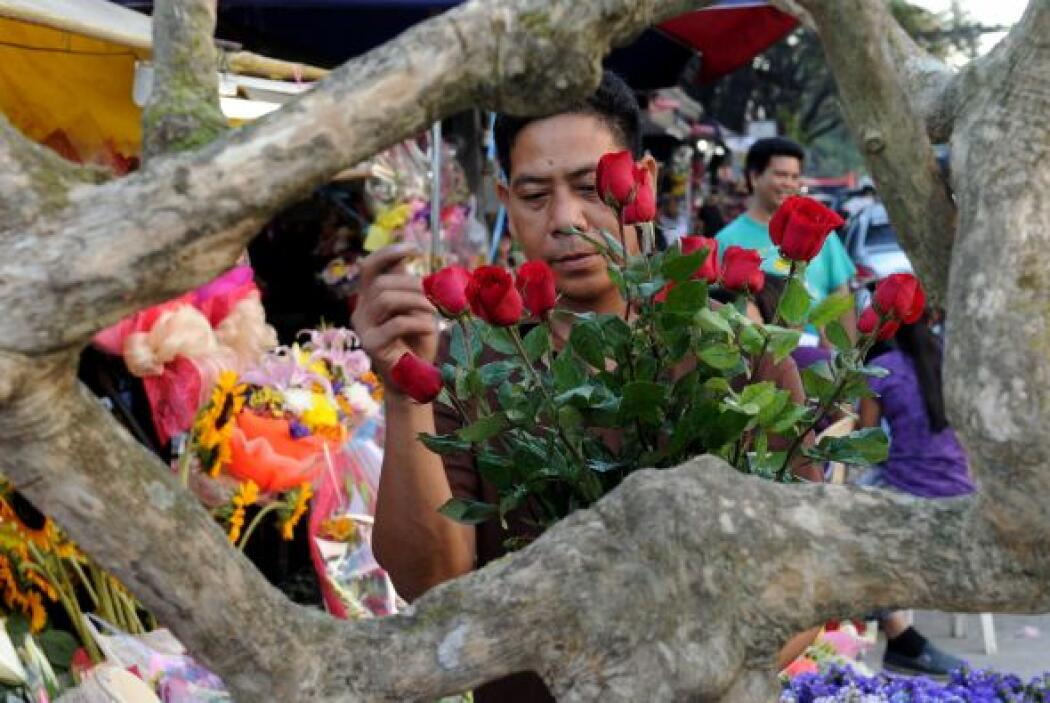 Un mercado de la región dio sus servicios para verder flores a toda la c...