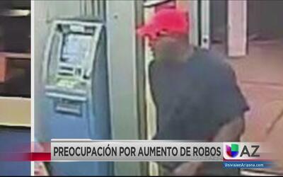 Buscan a sospechoso que robó varios negocios