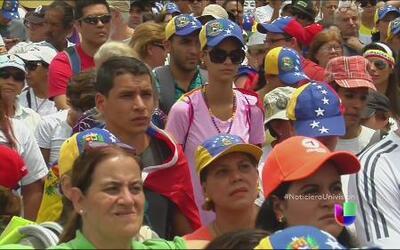 Nueva etapa de protesta en Venezuela