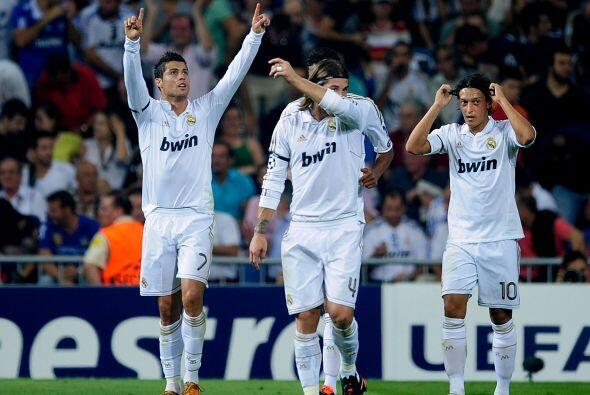 Cristiano Ronaldo marcó el segundo y sigue siendo el líder...