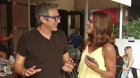 "Francisca impresionó con su belleza a Pedro Damián, productor de ""Desper..."