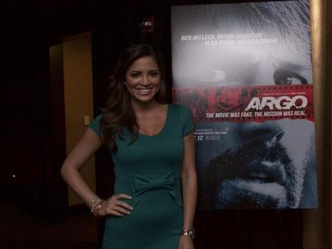Pamela Silva Conde se encargó de presentar la película Arg...