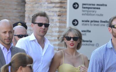 Taylor y Tom disfrutan su romance a la italiana.