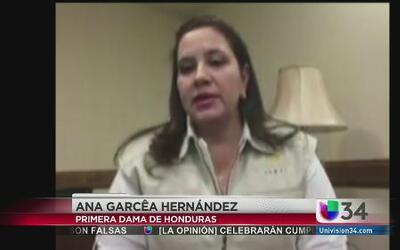 Primera dama hondureña se expresa sobre la crisis en la frontera