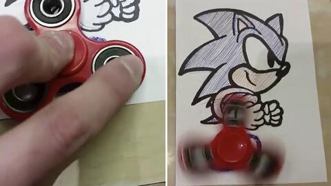 ¿Qué tienen en común Sonic The Hedgehog y el Fidget Spinner?