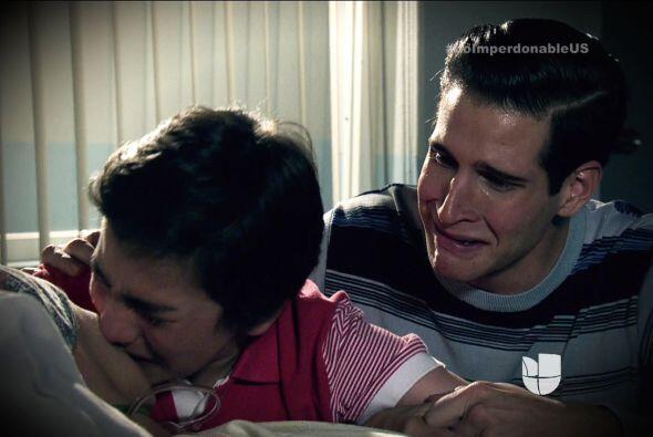 Sabemos que siempre llevarás en el corazón a tu amado hermano.