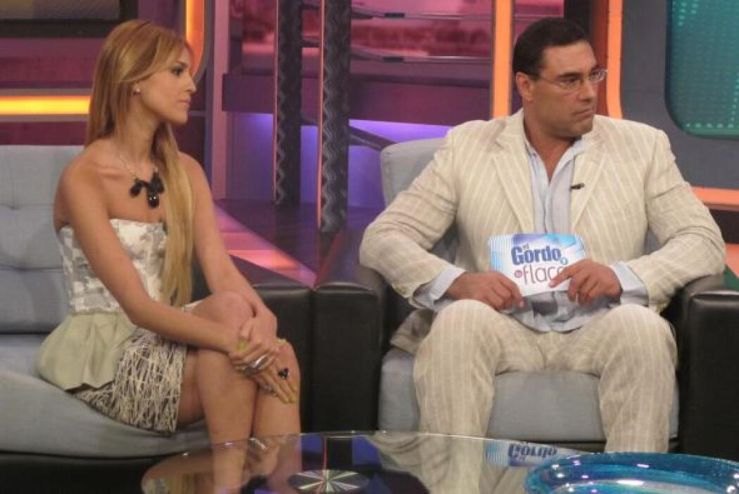 Mientras Eduardo Yáñez conquistaba a Lili Estefan, Eiza González habló d...