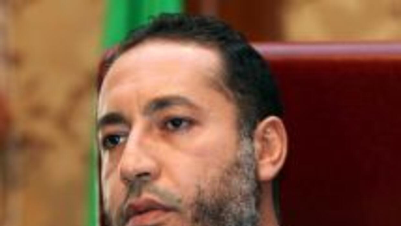 Saadi Gadafi, hijo del exdictador libio Muamar Gadafi.